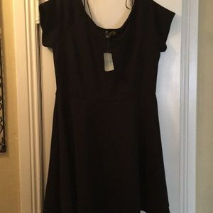 Forever 21 Dresses - Black forever 21 skater dress